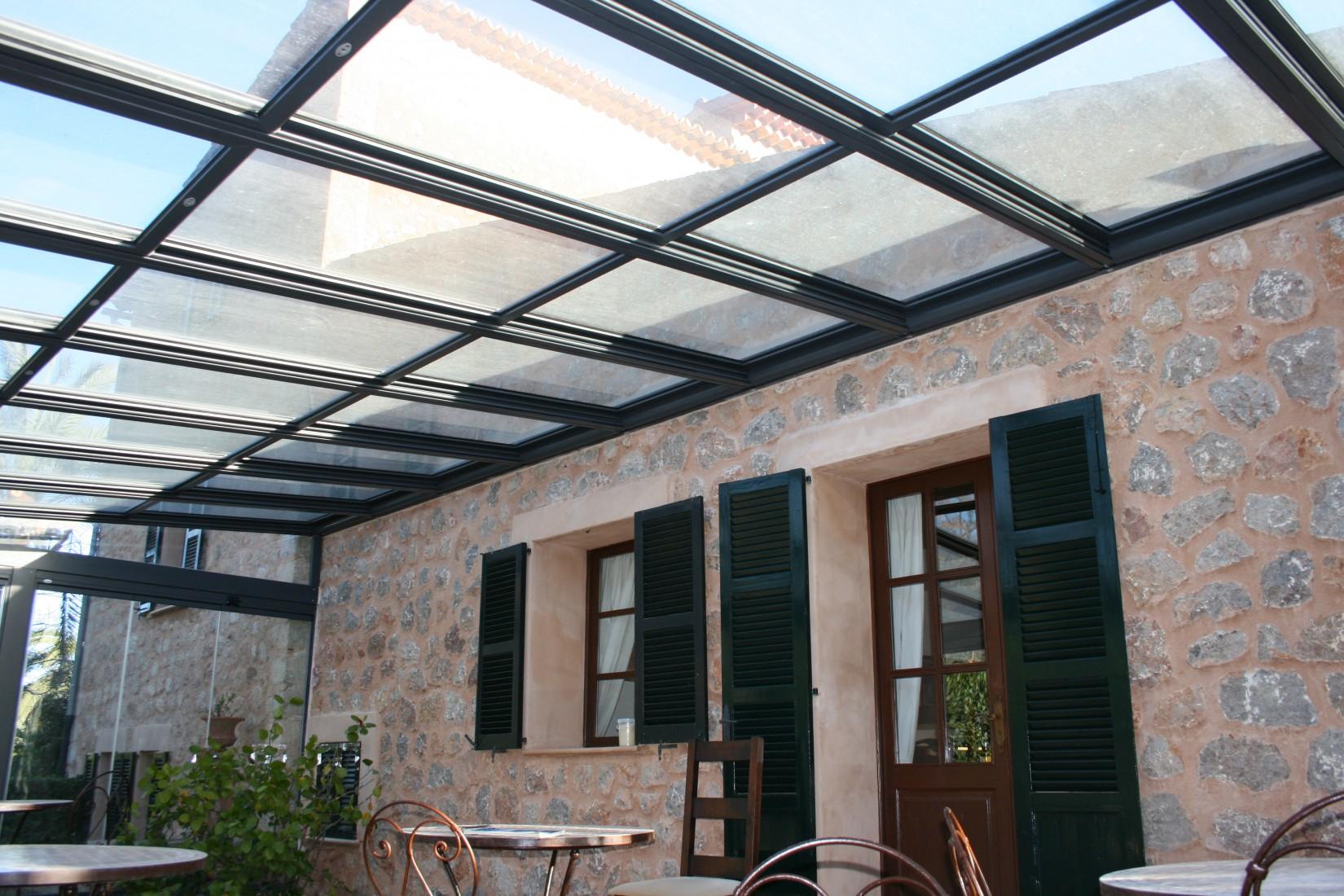 Techos de cristal para casas great techos de cristal for Techos livianos para casas
